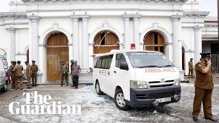 Sri Lanka: footage shows devastating aftermath of Easter Sunday church blasts