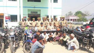 जुआ खेलते हुए 11 अभियुक्त गिरफ्तार BY INDIANEWSAAJTAK