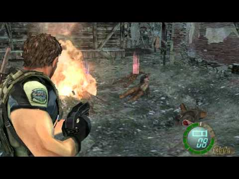 Resident Evil 4 Chris Redfield Mod
