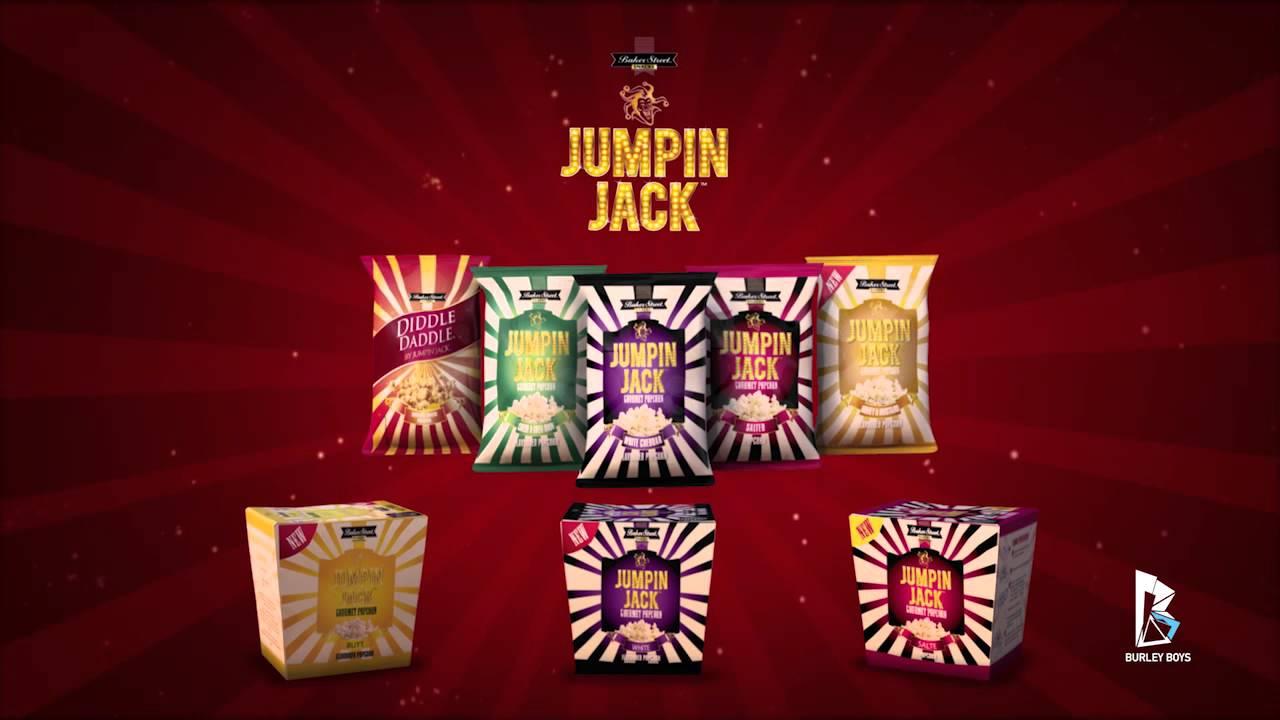 Jumpin Jack Jumpin Jacks Popcorn