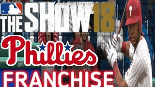 MLB The Show 18 PS4 - Phillies vs Nationals Game 1 (Full Broadcast Presentation)