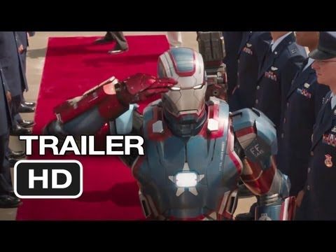 Iron Man 3 Official Trailer #2 (2013) - Robert Downey Jr. Movie HD