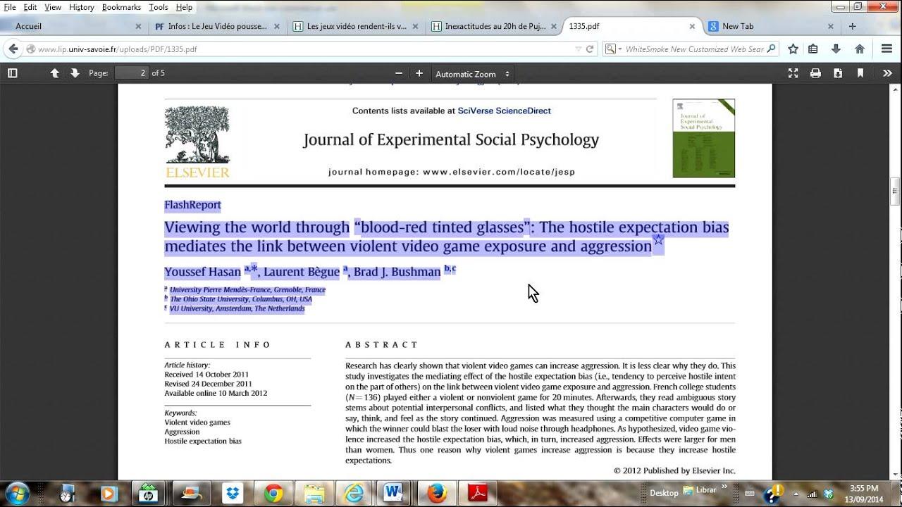 compte rendu critique article scientifique Procédure à suivre pour la réalisation d'un compte-rendu d'expérience cohérent et important quant à la thématique développée dans l'article.