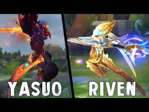 Yaven Montage - Best Yasuo & Riven Plays 2017 - League of Legends [GGWP]