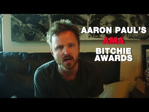 The Bitchies - AARON PAUL'S Top 5 Reddit AMA Moments