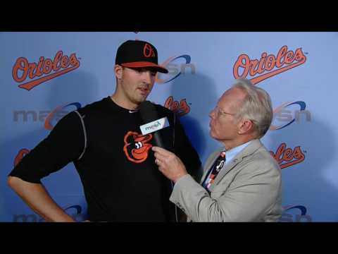 Kevin Gausman speaks after O's suffer loss to Blue Jays