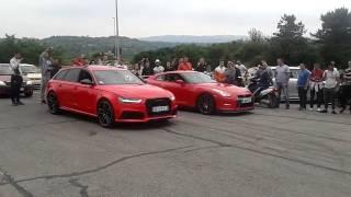 Nissan GTR (Duca Borkovic) VS Audi RS6