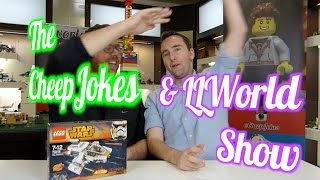 The CheepJokes & LLWorld Show - Episode 3 - From Brick-A-Laide - LEGO Talk show