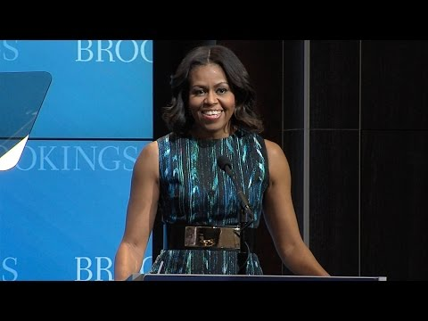 Michelle Obama: Give Girls the Education They Deserve