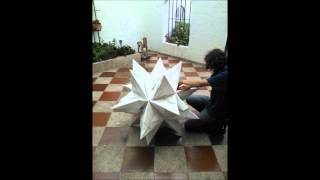 Giant Origami Bascetta Star