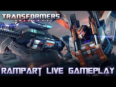 Transformers Universe Gameplay - RAMPART - Twin Power!