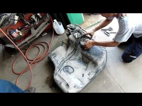 How to Remove and Replace Chrysler 300 Gas Tank And Fuel Pump