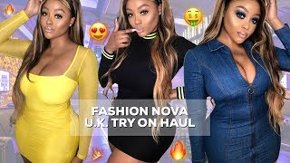 FASHION NOVA CURVE TRY ON HAUL 2019 | GIRLS NIGHT OUT EDITION | PARTYWEAR | FASHION MODEL