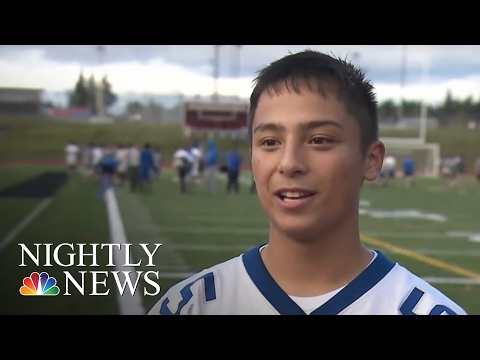 High School Football Team Too Good, Nobody Wanted To Play Them | NBC Nightly News