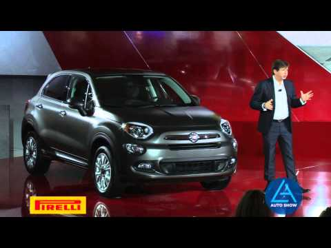All-New Fiat 500X Expands the FIAT Brand at the Los Angeles Auto Show