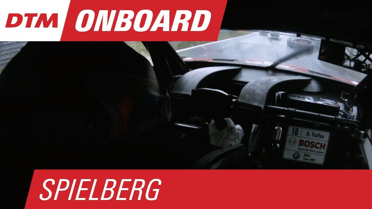 Augusto Farfus (BMW M4 DTM) - Live Onboard (Race 2) - DTM Spielberg 2015