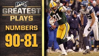 100 Greatest Plays: Numbers 90-81 | NFL 100