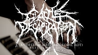 CATTLE DECAPITATION Derek Engemann - Clandestine Ways (Krokodil Rot) (Bass Playthrough)