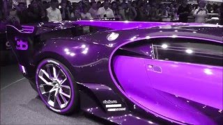 COLOR CHANGING (FULL-VERSION) Bugatti ''Vision Gran Turismo'' 8.0 W16 1500 Hp 463 Km/h * Playlist
