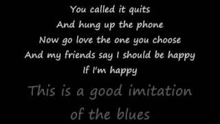 Watch Alan Jackson Good Imitation Of The Blues video
