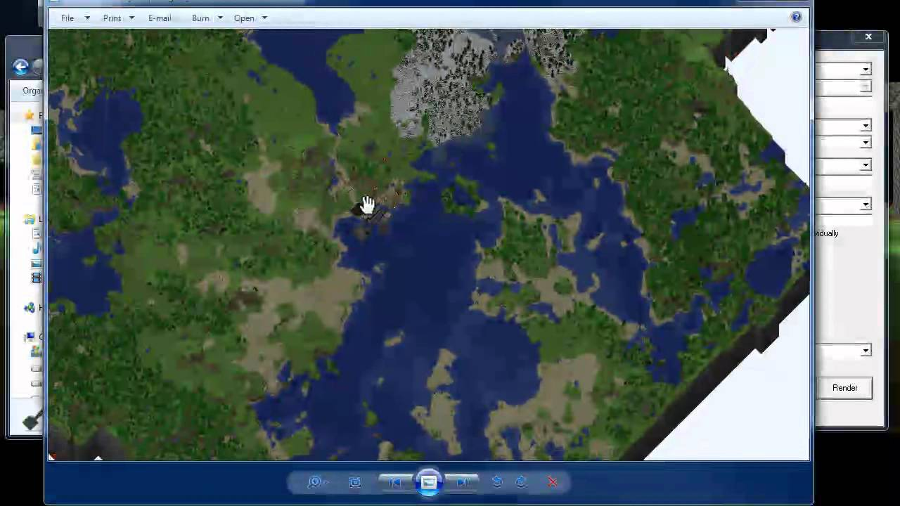Minecraft - How to map of your minecraft world! (Using ...