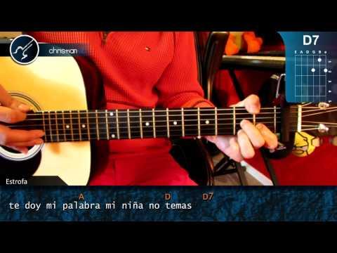 Como tocar el Ruido de tus Zapatos LA ARROLLADORA BANDA EL LIMON en Guitarra HD Tutorial Acordes