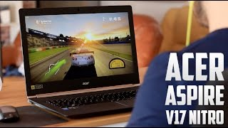 Acer V17 Nitro Black Edition, review en español