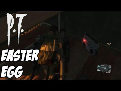Metal Gear Solid 5 P.T. Easter Egg Silent Hills V The Phantom Pain