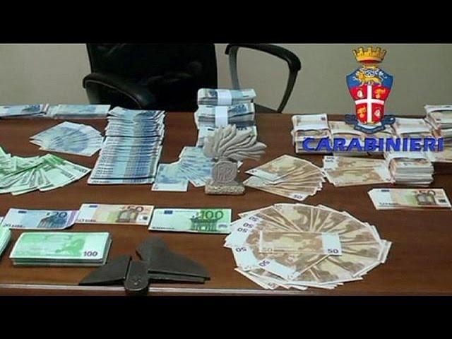 Italie : démantèlement d'un important réseau de faux monnayeurs