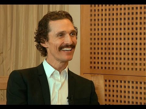 Matthew McConaughey talks Magic Mike, Bernie and the upcoming The Dallas Buyers Club