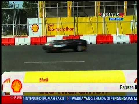 Shell Eco Marathon Asia - Team Indonesia Part 1