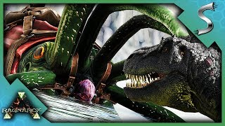 SEARCHING THE ISLANDS DEPTHS! TAMING A HIGH LEVEL TUSOTEUTHIS! - Ark: Survival Evolved [Cluster E76]