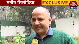 Manish Sisodia Exclusive: Delhi Deputy CM On AAP
