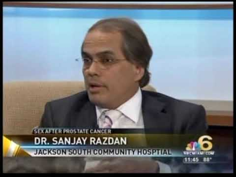 Sex after robotic prostate cancer surgery. Dr. Razdan, an internationally ...