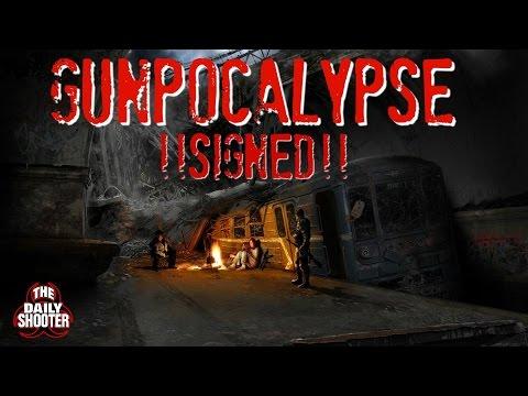 Gunpocalyps SIGNED by Gov. Jerry Brown California Gun Control