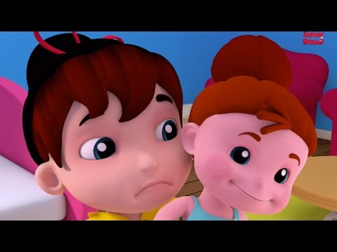 Miss Polly Had A Dolly | Kids Nursery Rhymes | Childrens Preschool Songs | Junior Squad