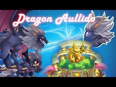 SANTUARIO DE CRIA : como sacar al dragon aullido de dragon city