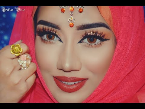 EID Makeup Look 2017 | Daytime Peach Makeup Look | Easy & Wearable