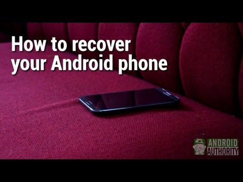 How to recover your Android phone