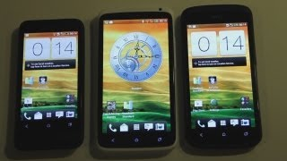 HTC One X vs. HTC One S vs. HTC One V Boot Up Test HD