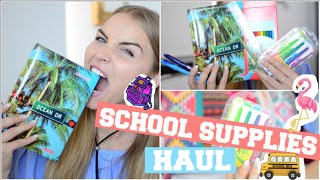 SCHOOL SUPPLIES HAUL + MEGA VERLOSUNG #BACKTOSCHOOL