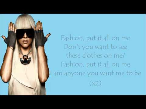 Lady Gaga - Fashion