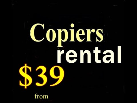 Office Copiers for Rent Chicago, Il