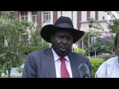 'I don't want any more bloodshed in South Sudan': president