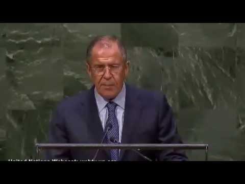 Выступление С.Лаврова на 69-й сессии ГА ООН