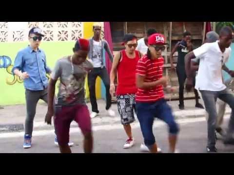 Street team × Corn bread (New Dance 2013) in Kingston Jamaica