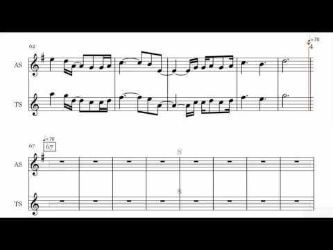 Christina Perri   A Thousand Years Saxophone Sheet Music
