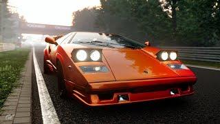 GT Sport: Lamborghini Countach 25th Anniversary - Nürburgring
