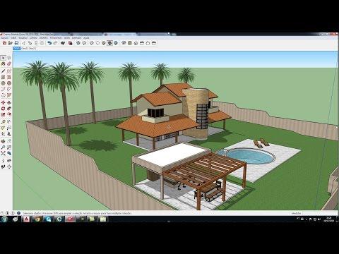 SketchUp 2015 Aula 2: Templates e Ambiente 3D (Curso Básico Gratuito)