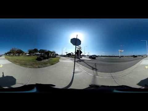 360 degree video! Heavy landing at LAX (Los Angeles International Airport)